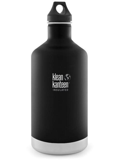 Klean Kanteen Classic Bottle Vacuum Insulated 1900 ml w/ Loop Cap shale black
